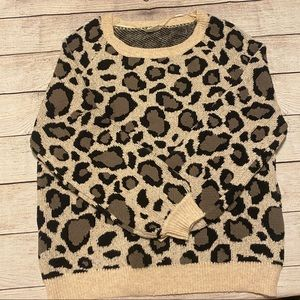 By Together Animal Print Sweater